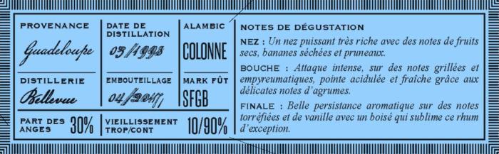 infos étiquette