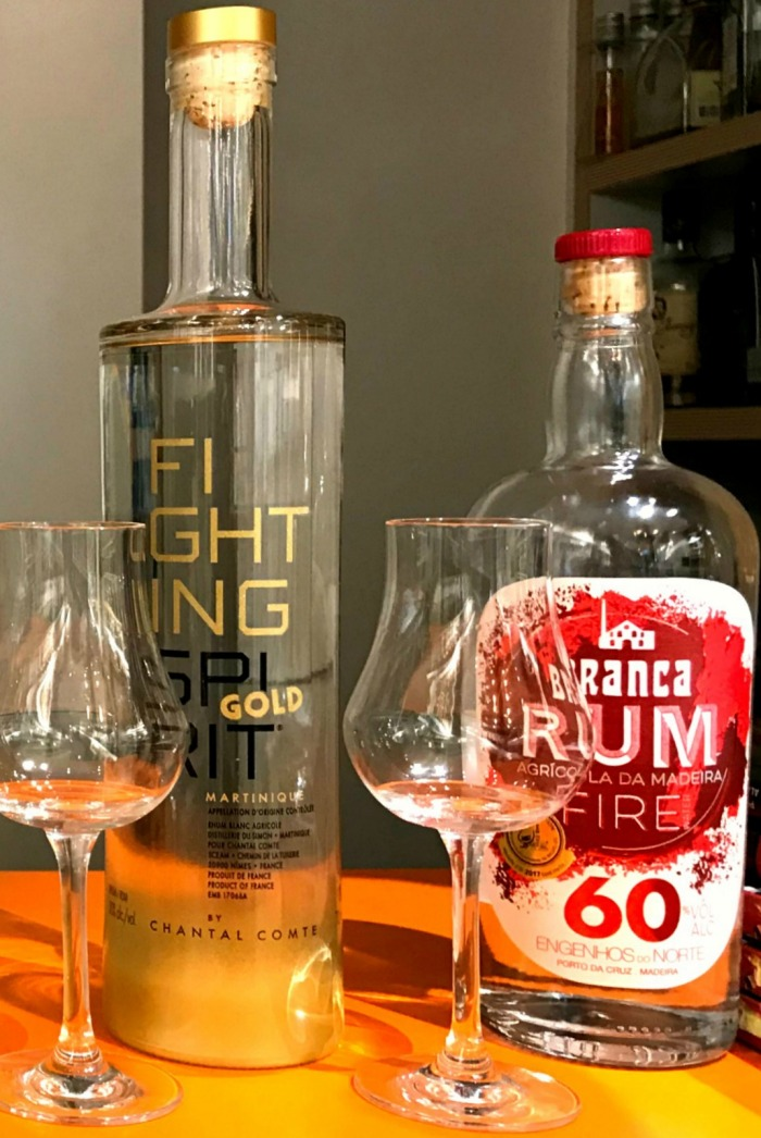Fighting Spirit Gold et Branca Fire 60