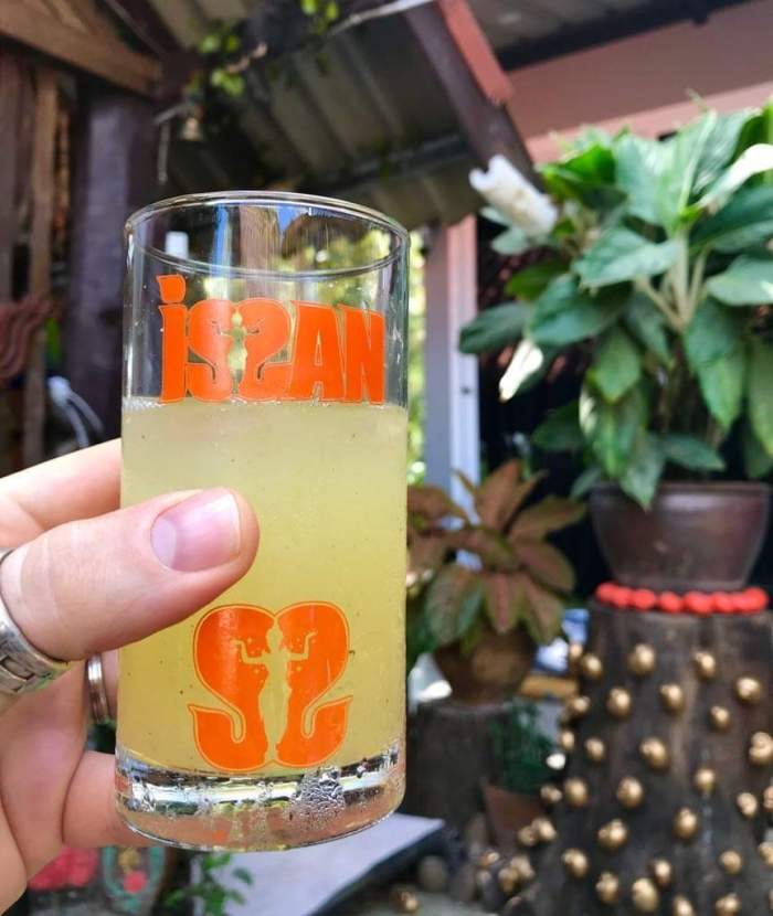 issan rum - long drink