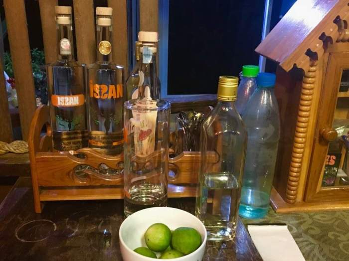 issan rum - the bar