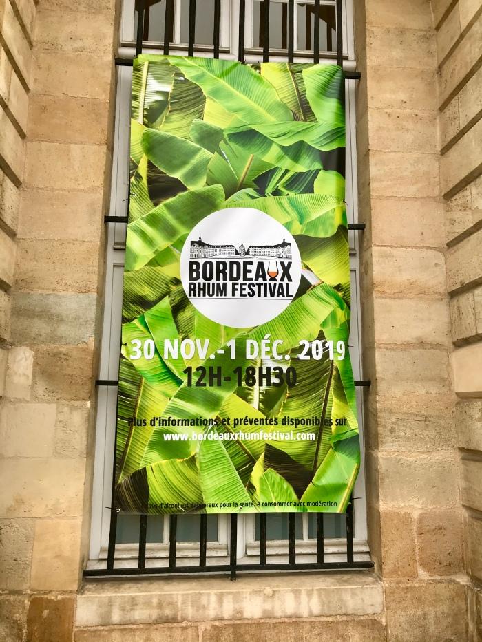 Bordeaux rhum festival affiche
