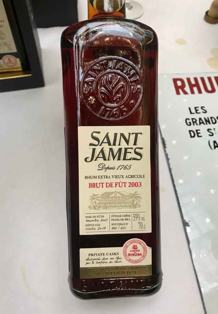 Saint James 2003 Cuvée Confrérie du Rhum
